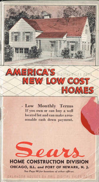 Sears Home Construction Division 1933 : Sears, Roebuck ...