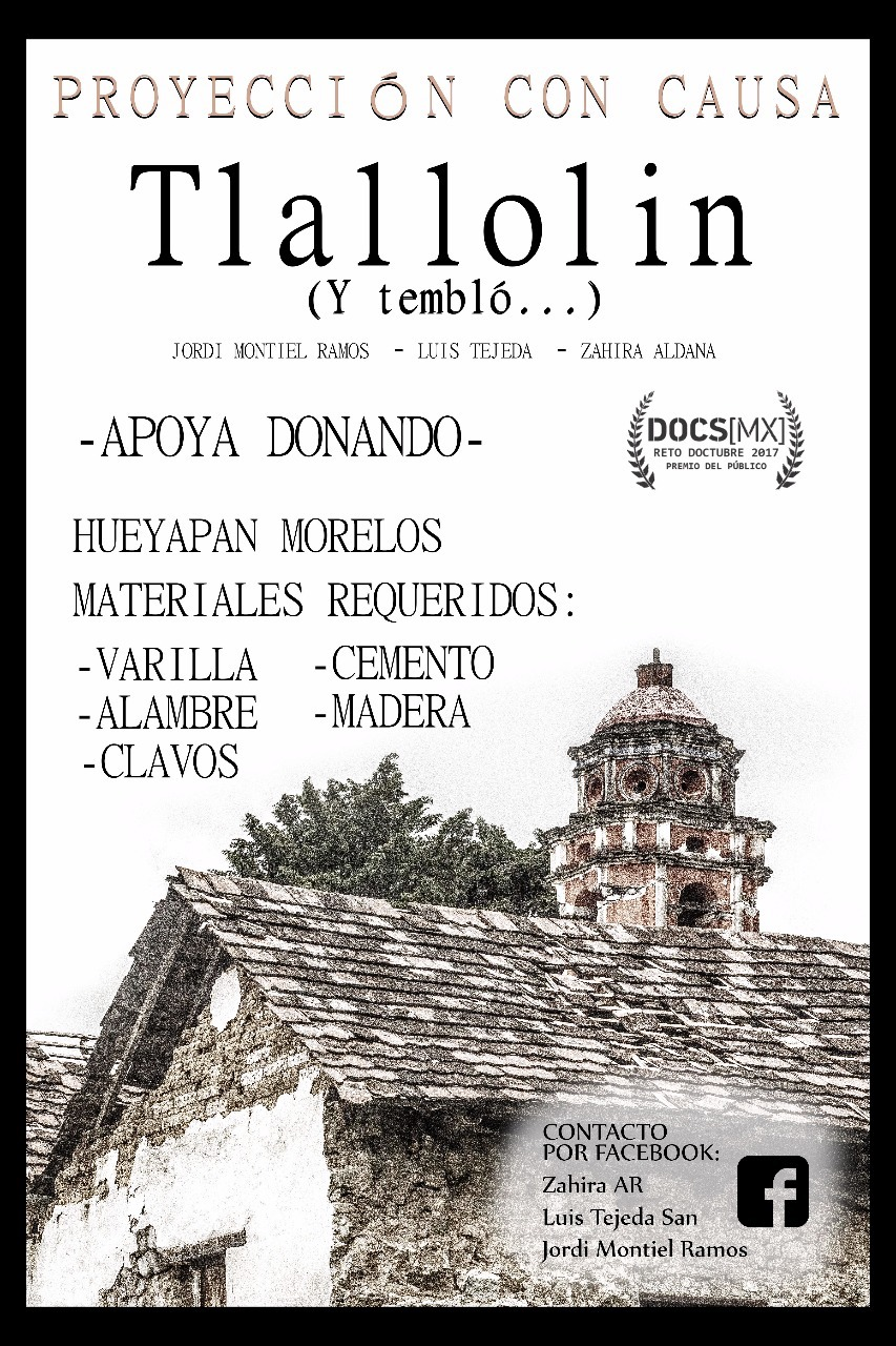 Portada de documental Tallolin.